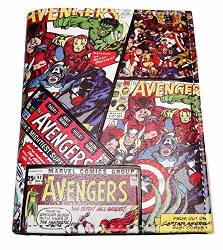 Marvel AVENGERS Comic Book Cover Bi-Fold WALLET