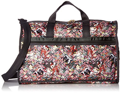 LeSportsac Women's X Large Weekender, Bambi/Friends