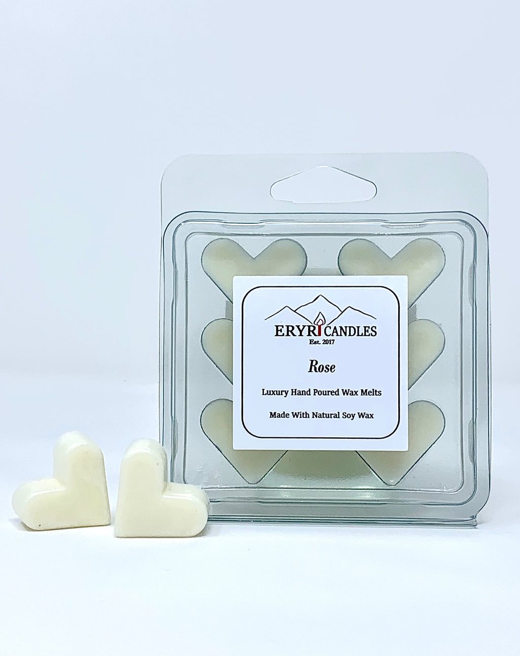 Heart Rose Scented Melts