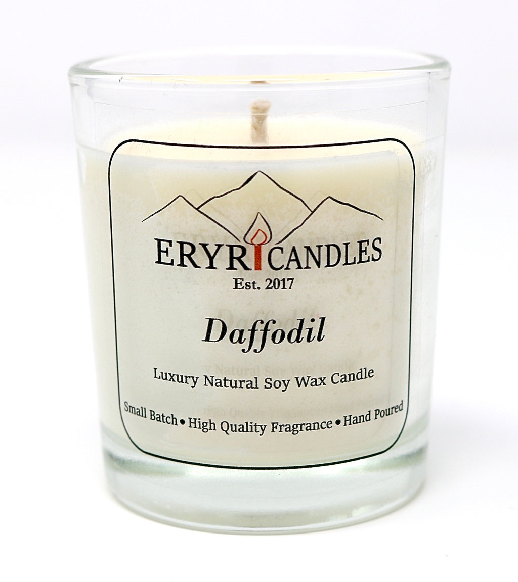 Daffodil Candles