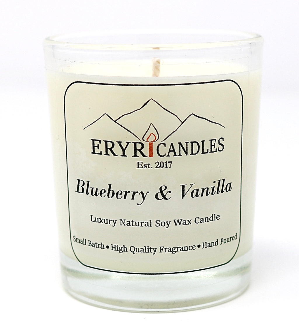 Blueberry & Vanilla Candles