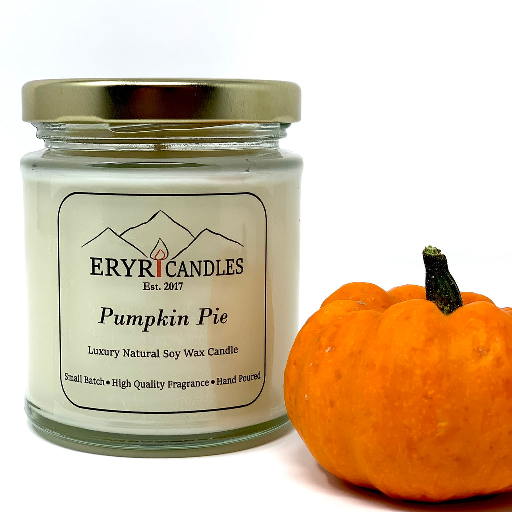 Pumpkin Pie Candles