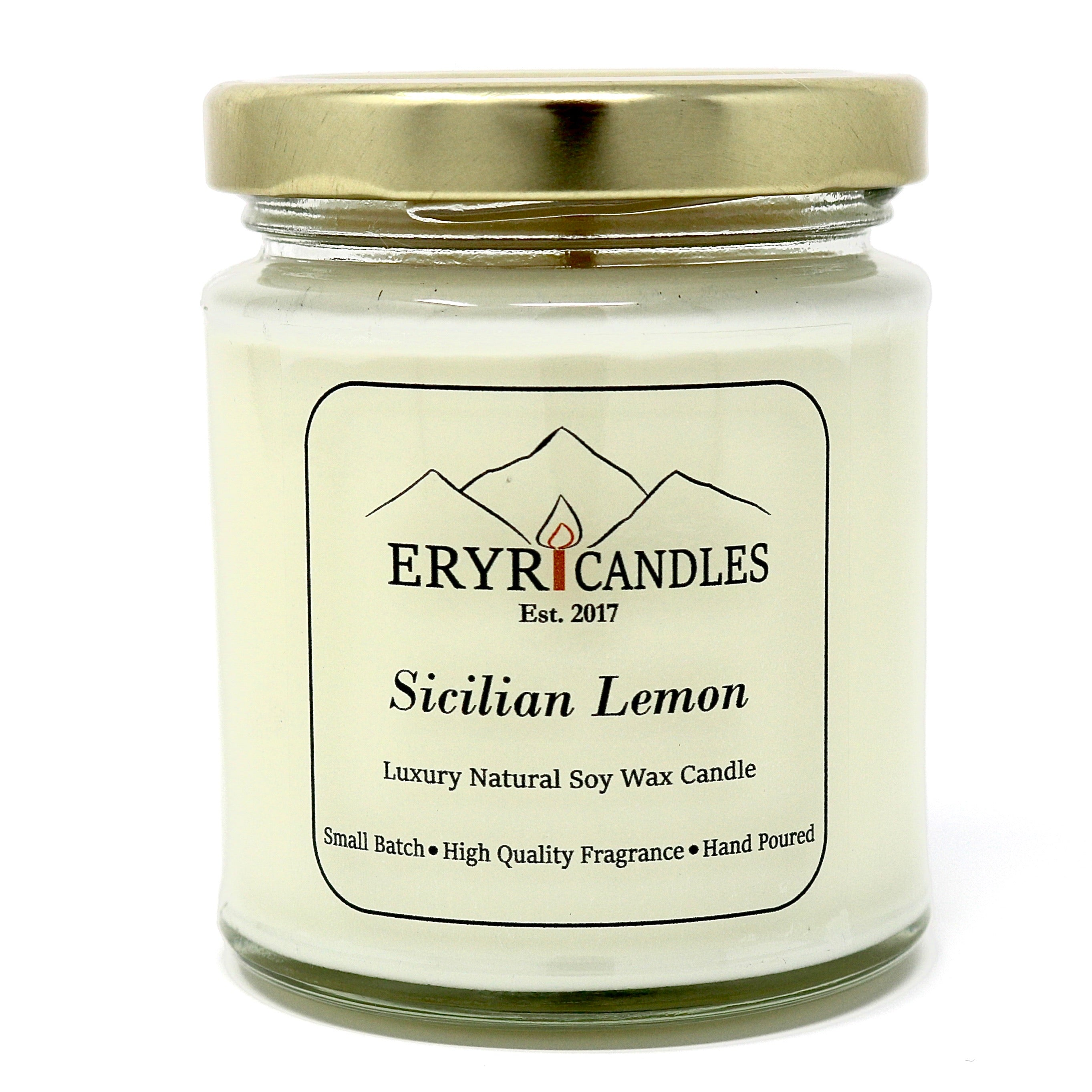 Sicilian Lemon Candles