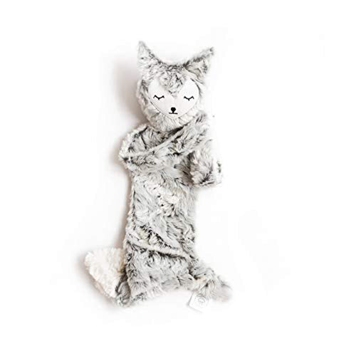 Slumberkins - Fox - Cuddly Creatures with Intention (Snuggler, Silken - Silver)