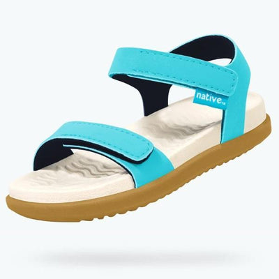 Native Charley Child Sandals Surf Blue-SHOES-NATIVE- babies, kids and moms fashion, decor and accessories at Modern Kids Society USA