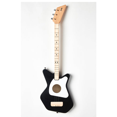 LOOG Pro Acoustic Guitar Black