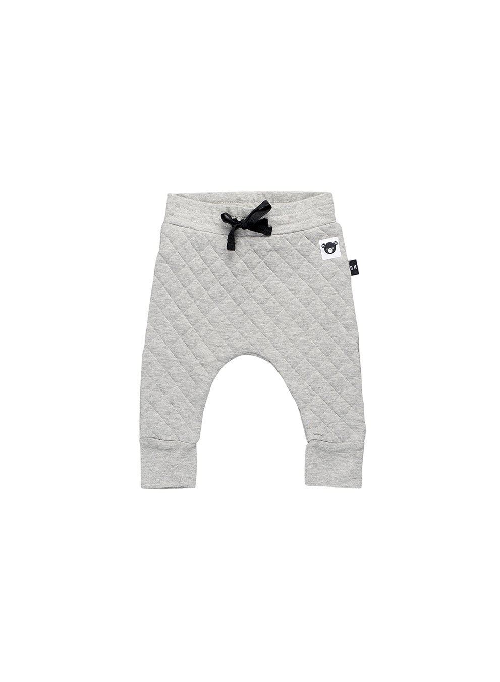 Huxbaby Stitch Dc Pant Grey Marle-pant-HUXBABY- babies, kids and moms fashion, decor and accessories at Modern Kids Society USA