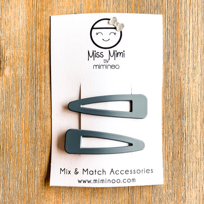 Snap Clips Matte Finish Build Your Set-Hair Accessories-Miss Mimi- babies, kids and moms fashion, decor and accessories at Modern Kids Society USA