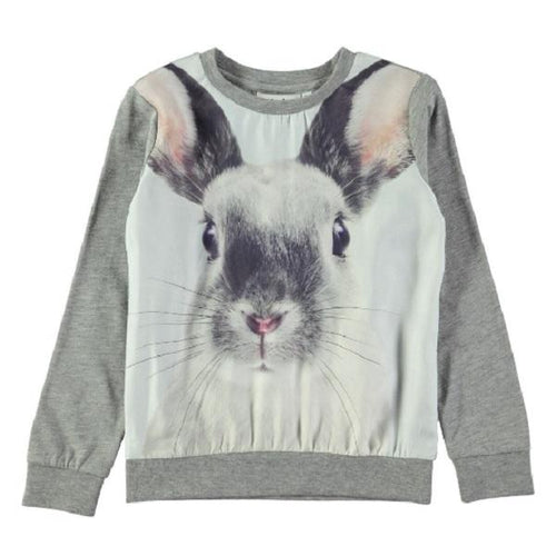 Molo Renita T-Shirts Ls Winter Hare-T-shirts-MOLO- babies, kids and moms fashion, decor and accessories at Modern Kids Society USA