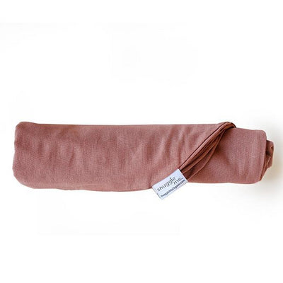 Snuggle Me Organic Cover Rosewood Linen