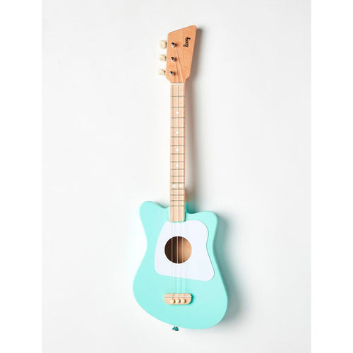 LOOG Mini Guitar Mint Green-GUITAR-LOOG- babies, kids and moms fashion, decor and accessories at Modern Kids Society USA