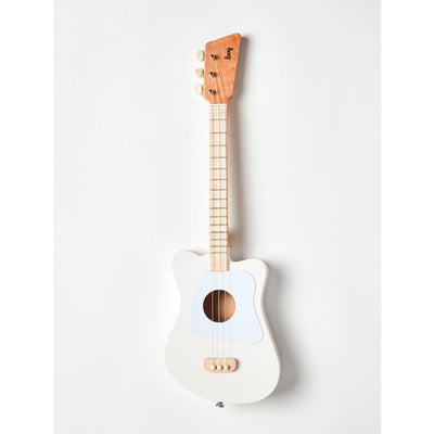 LOOG Mini Guitar White-GUITAR-LOOG- babies, kids and moms fashion, decor and accessories at Modern Kids Society USA