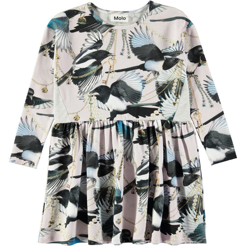 Molo Carly Dress Treasure Hunters-DRESS-Molo- babies, kids and moms fashion, decor and accessories at Modern Kids Society USA