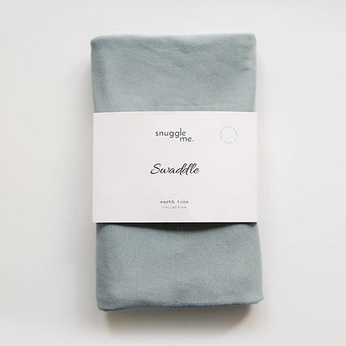 Snuggle Me Organic Cotton Baby Swadle Slate-SWADDLE-SNUGGLE ME ORGANIC- babies, kids and moms fashion, decor and accessories at Modern Kids Society USA