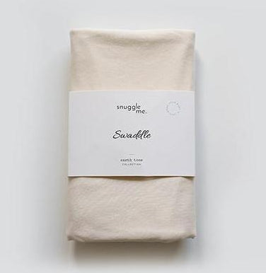 Snuggle Me Organic Cotton Baby Swaddle Natural