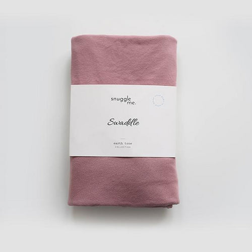 Snuggle Me Organic Cotton Baby Swaddle Rosewood-SWADDLE-SNUGGLE ME ORGANIC- babies, kids and moms fashion, decor and accessories at Modern Kids Society USA