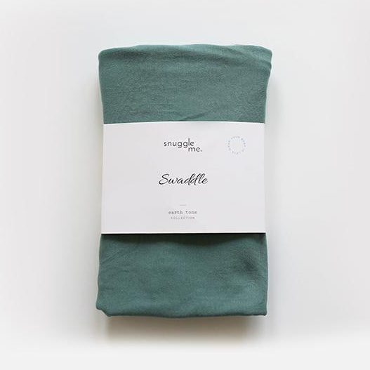 Snuggle Me Organic Cotton Baby Swadle Moss