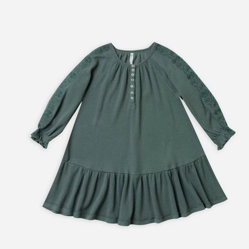 Rylee & Cru Thermal Dress Spruce