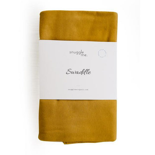 Snuggle Me Organic Cotton Baby Swaddle Honeysuckle