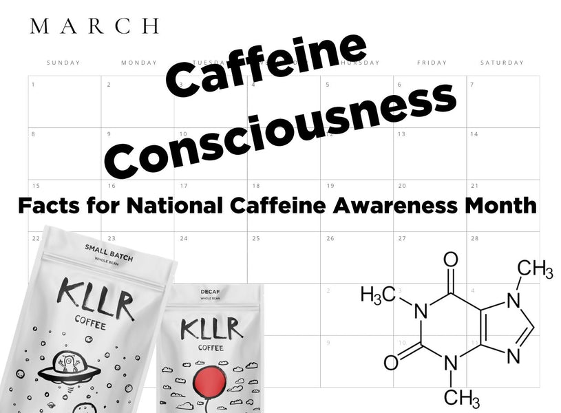 Caffeine Consciousness: Facts for National Caffeine Awareness Month