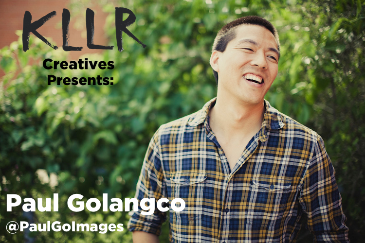 KLLR Creatives Debut PODCAST w/ Guest Paul Golangco