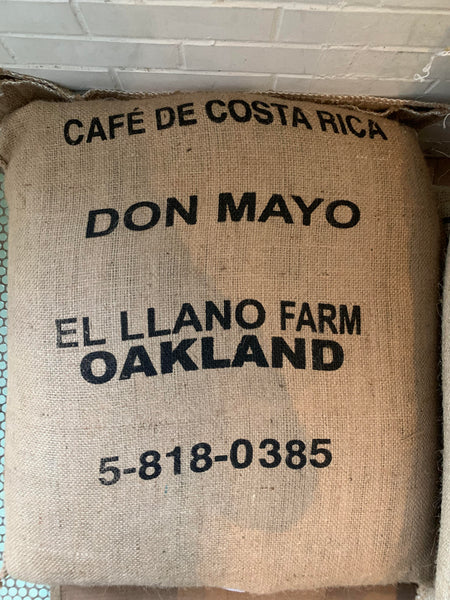 New Small Batch! Costa Rica Don Mayo