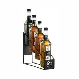 1883 Syrup Display Rack - Displays 4 Bottles