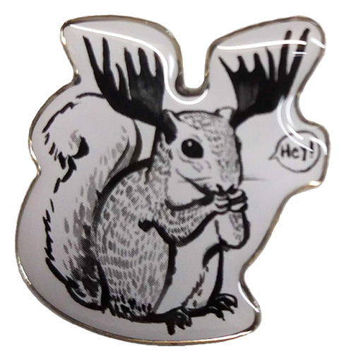 KLLR Squirrel Pin
