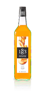1883 Peach Syrup 1L (33.8 oz)