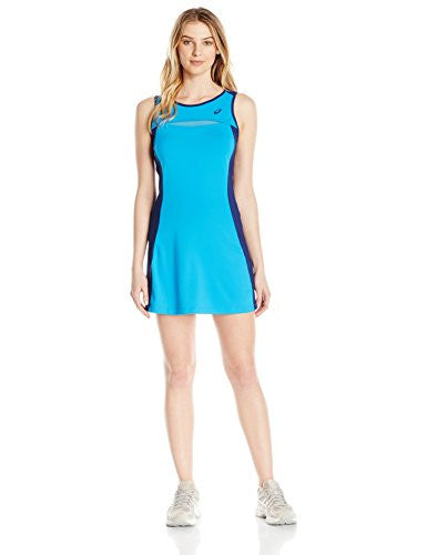 ASICS Women's Club Dress, Diva Blue, Medium