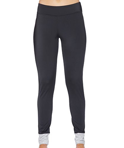 Nautica Women's Soho Solid Surf Legging Pant, Black, Medium