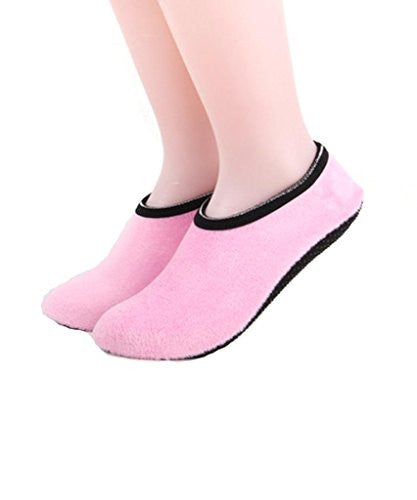 Ruya Ballet Slipper Non-Skid Slipper Socks By Foot Size 4-9