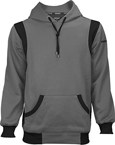 Marucci Adult Performance Fleece Hoodie, Gray/Black, X-Large