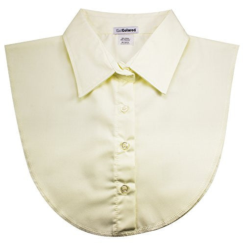 Ivory Off White Women's Dickey Collar by USA-Based IGotCollared (aka Dicky Collar, Detachable, Fake Blouse Collar)