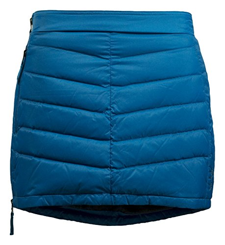 Skhoop Mini Down Skirt, Methyl Blue, X-Small