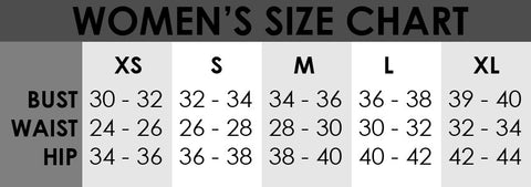 Women's Hockey Pant Size Chart