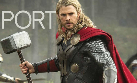 Thor as wine: Port