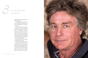 Inside page example: Stephan Asseo story and portrait image