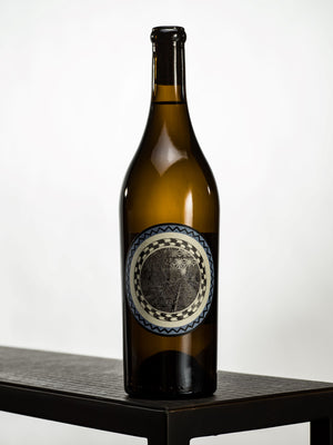 2014 Sauvignon Blanc from Desparada Wines - Bottle on Table