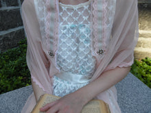 Closeup View of Ballerina Blush Tallit, Jewish Prayer Shawl, Girls Tallis, Ladies Tallit