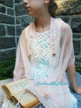 Ballerina Blush Tallit, Jewish Prayer Shawl, Girls Tallis, Ladies Womens Tallit for Bat Mitzvah or Wedding