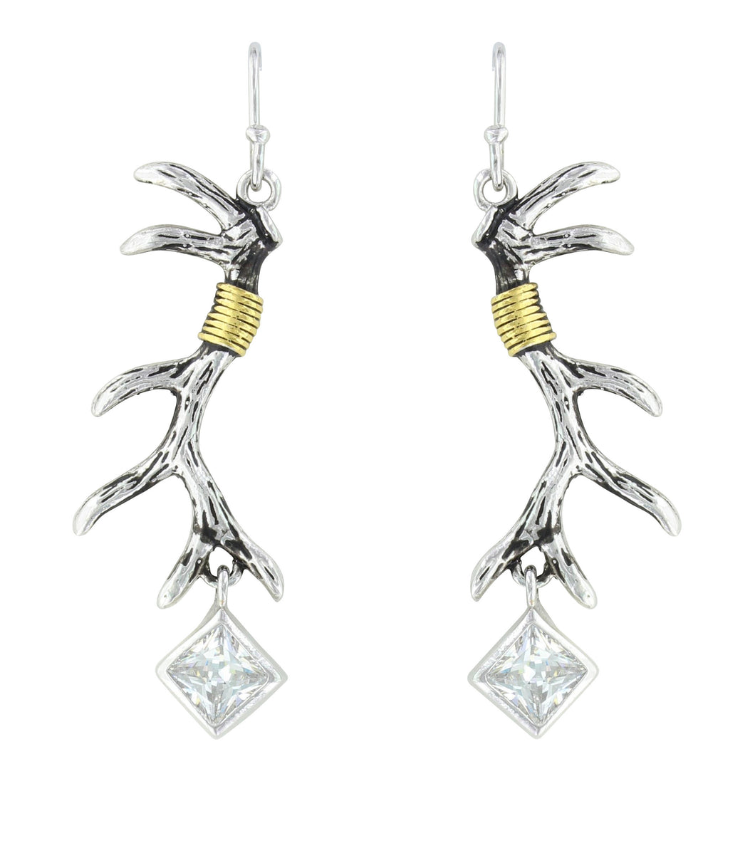 Antlers Found Festoon Earrings