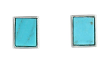 Turquoise Pool Post Earrings