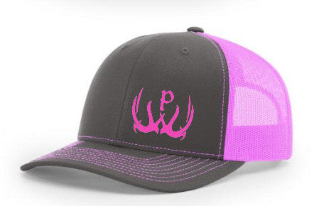 Pursue The Wild Pink Logo Hats