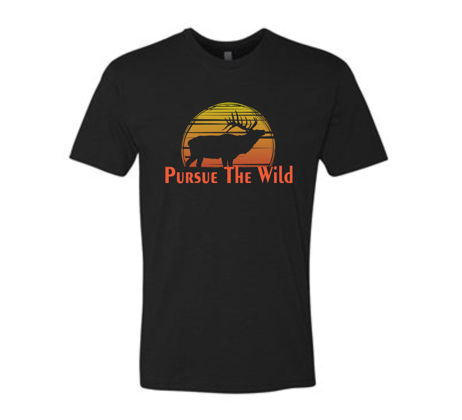 Sunrise Bull Men's T-Shirt