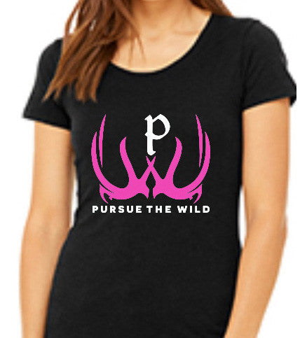Pursue The Wild Junior Logo T-Shirt