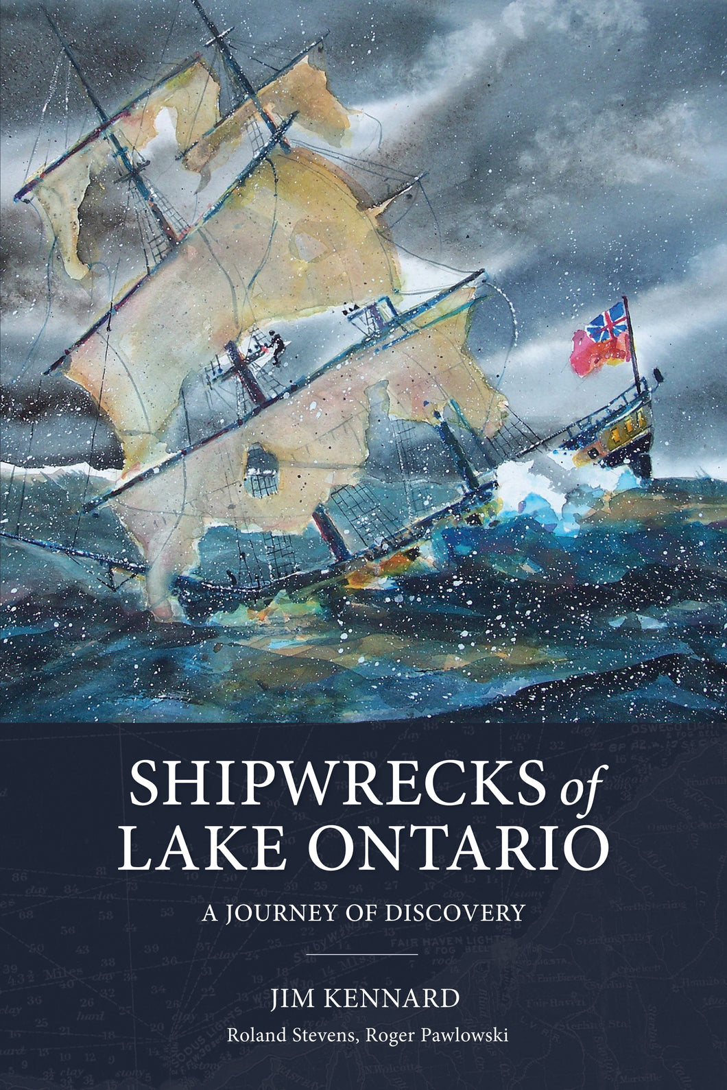 PRE-ORDER Shipwrecks of Lake Ontario: A Journey of Discovery