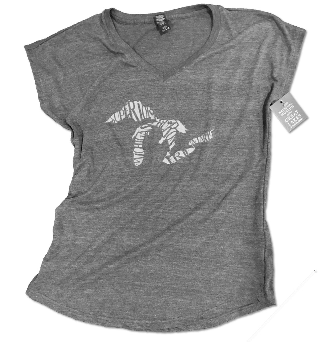 Great Lakes Ladies V-Neck T-Shirt