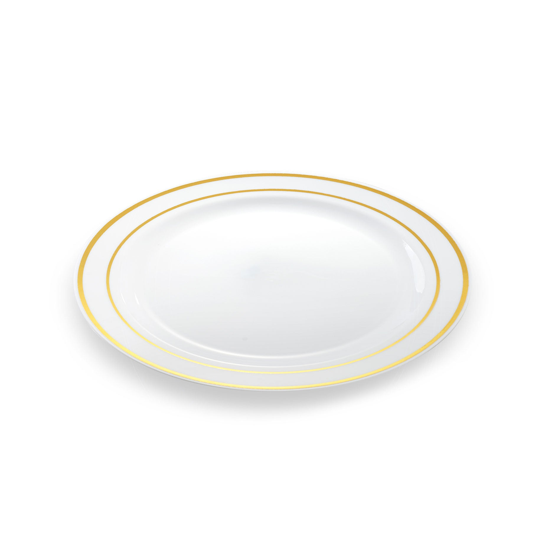 sc 1 st  Simply Disposables & 20 x Small Disposable Plates | Gold Rim 7.5