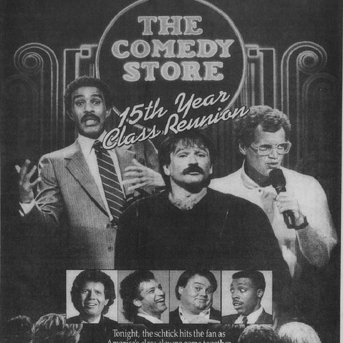 Comedy Store Promotional Poster